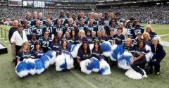 1983 Seahawks & Sea Gals honored at the Seahawks vs Bucs game 11-3-13.