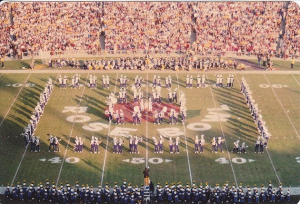 Husky Band Playing Tequila at Rose Bowl