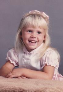 Kristi Leonard Age 3