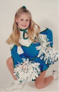 My daughter, Kristi, as a 1996 Jr. Sea Gal.