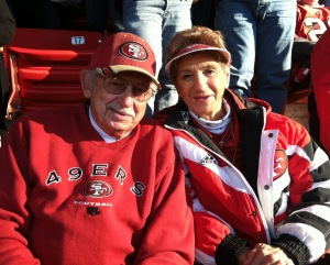 Diehard 49er season-ticket holders who reflect the class of the past. They're giving up the tickets they've had for 50 years at the end of this season.